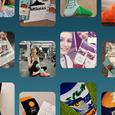 MtSocks – bitcoin gift socks